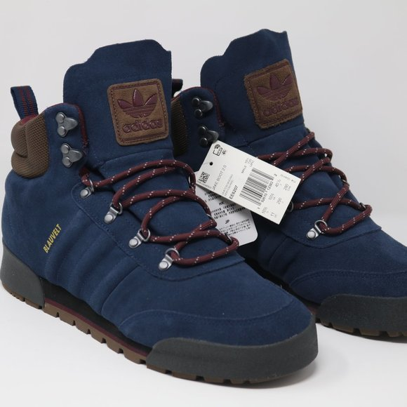 Adidas Jake Boots 2 Navy Blue Suede